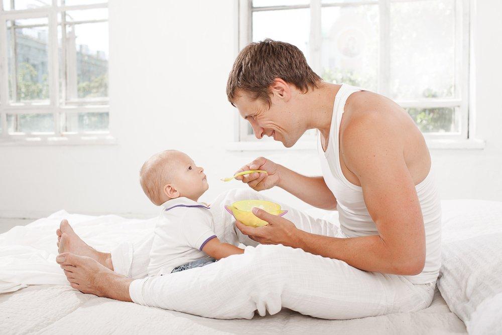 Питание ребенка в помощь составу крови