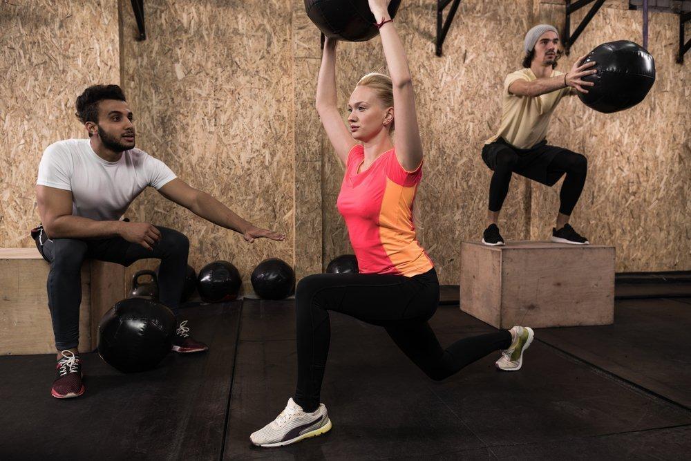 Примерный комплекс упражнений кроссфита