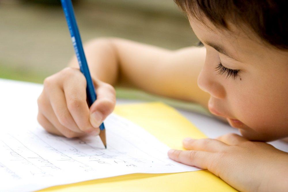 Родители и дети пишут письмо потомкам