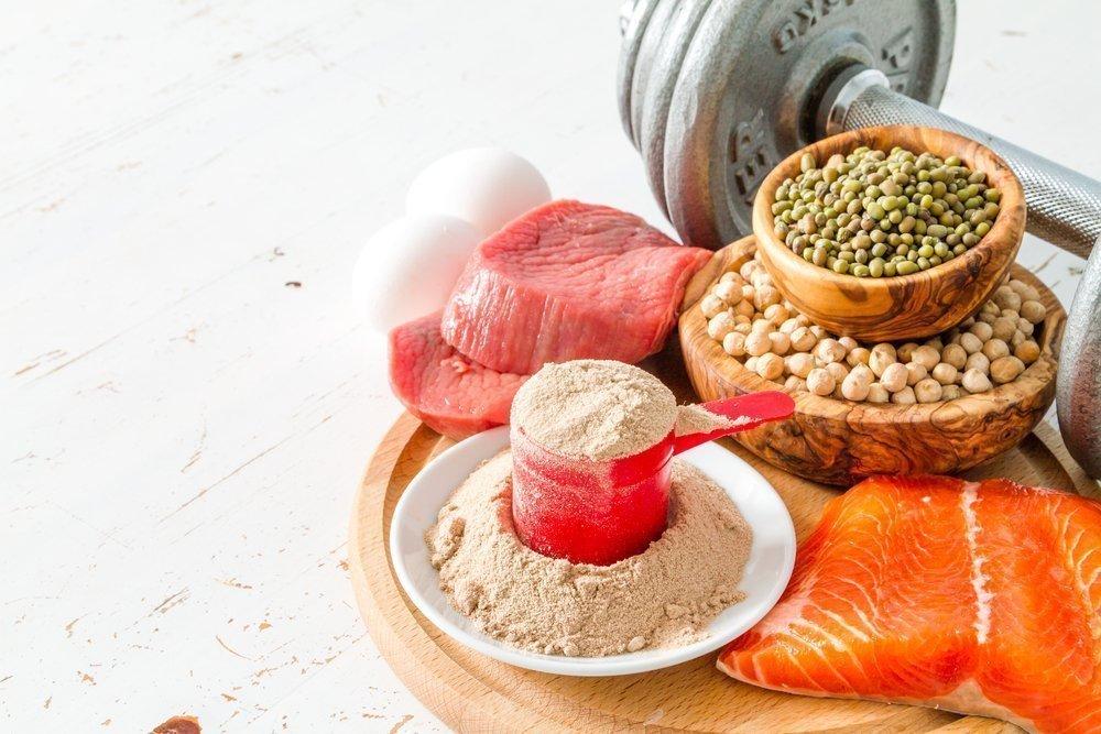 Протеин на белковой диете фото