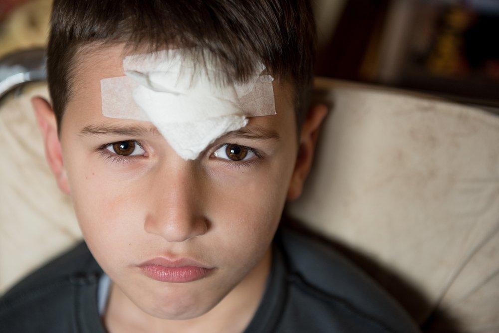 Травмы челюстно-лицевой области у детей с 7 до 17 лет