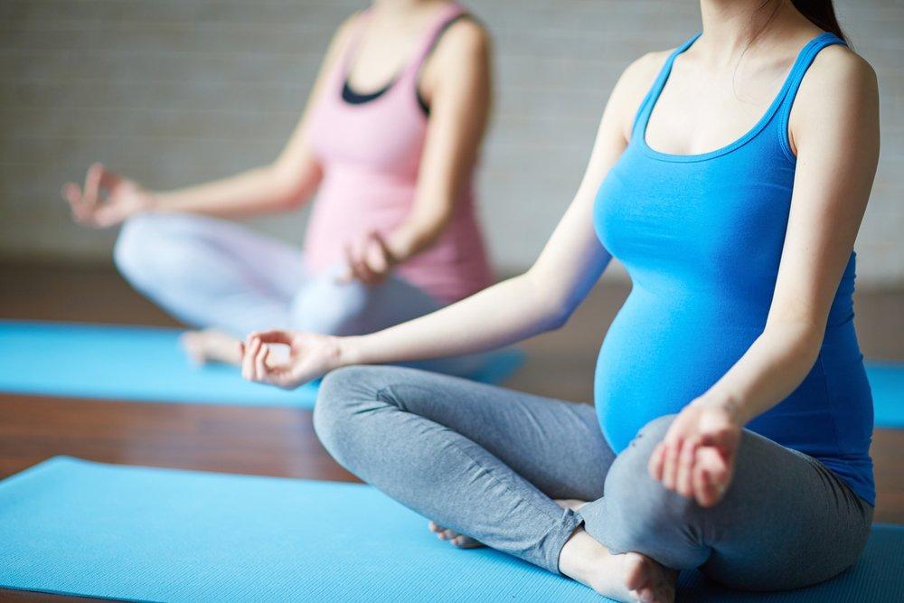 Низкоударная фитнес-программа для беременных