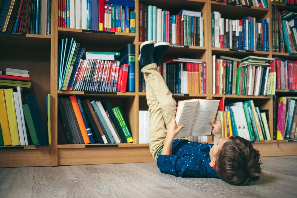 Домашняя библиотека помогает лучше зубрежки!