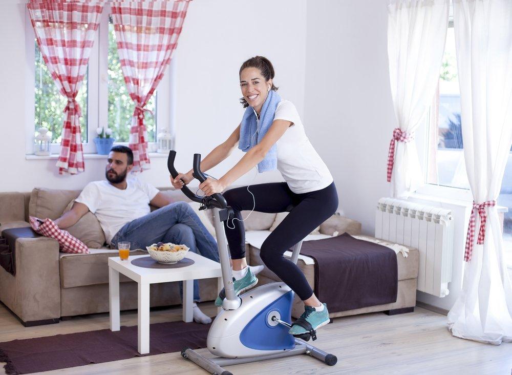 Преимущества упражнения на велотренажере