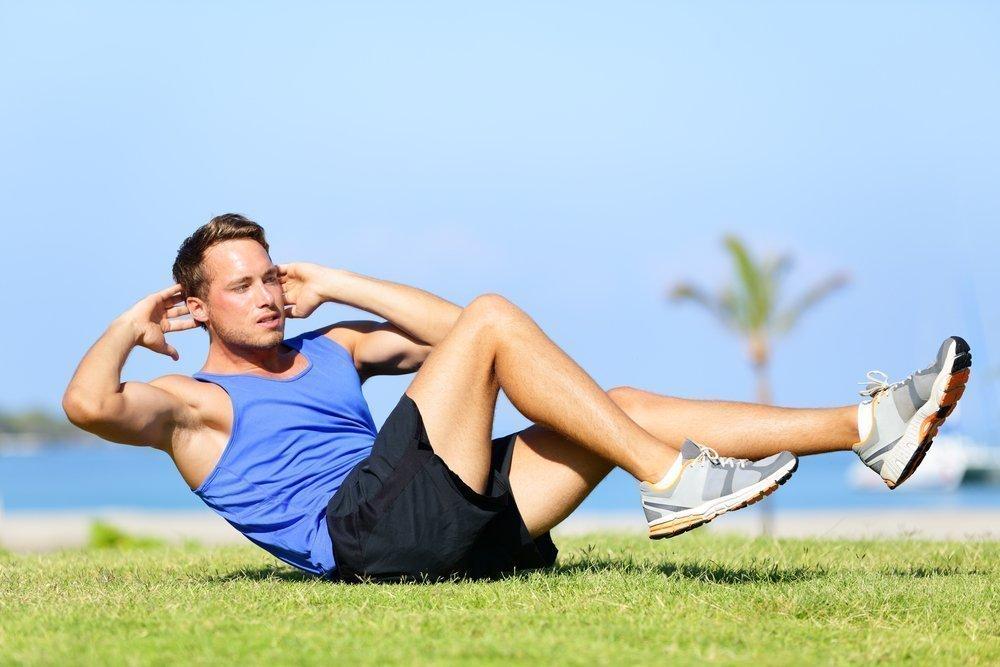 Увеличение и уменьшение нагрузки на мышцы пресса