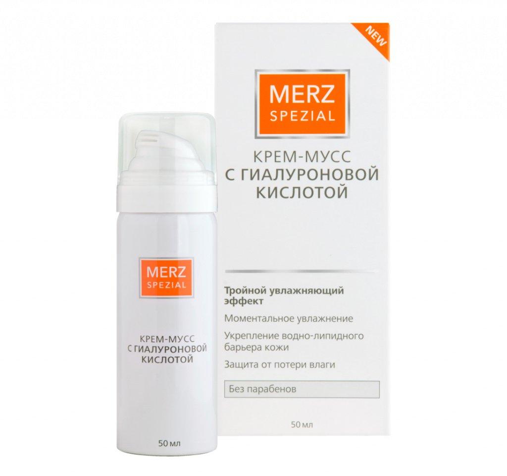Крем-мусс Merz Special с гиалуроновой кислотой Источник: merz-spezial.ru