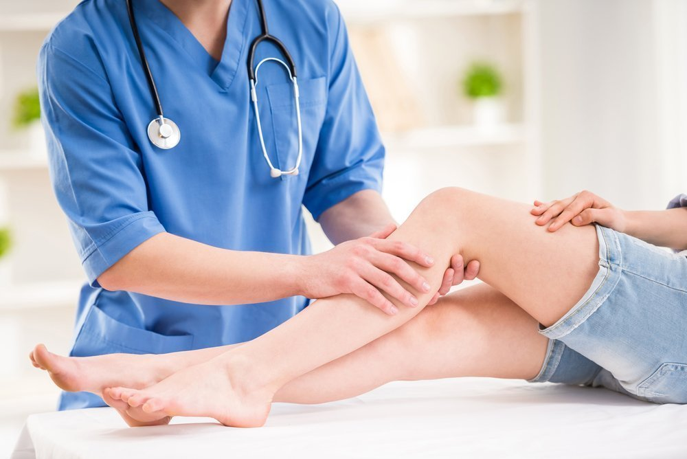 Причины отека ног после операции кесарева сечения