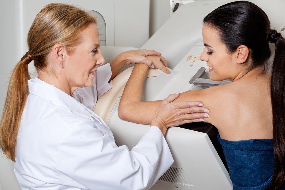 Маммография: рак молочной железы