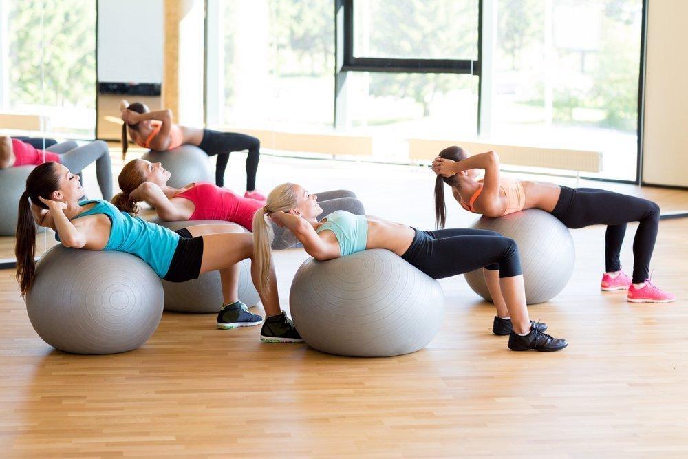 Как правильно выбрать фитбол для выполнения упражнений?