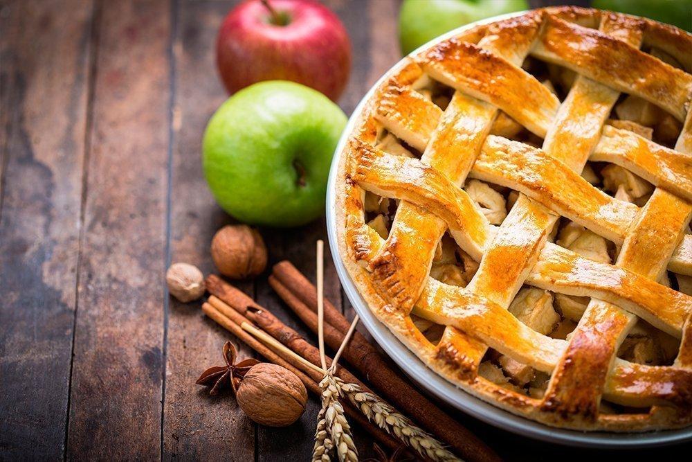 Традиционный яблочный пирог из США
