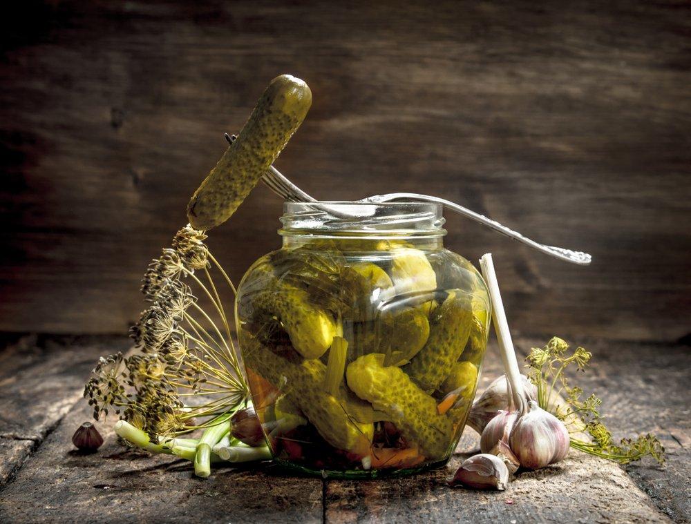Рецепт свежепросольных огурцов в пакете