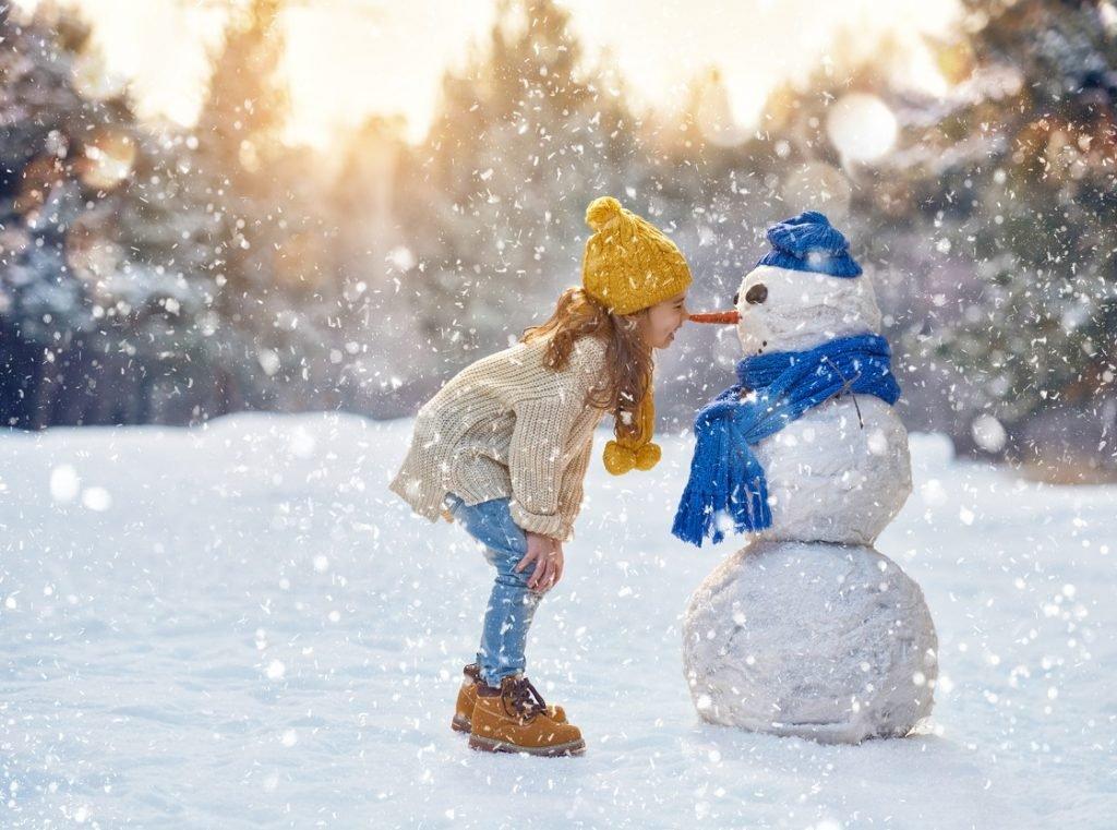 Снежное творчество: лепим, раскрашиваем, рисуем, строим