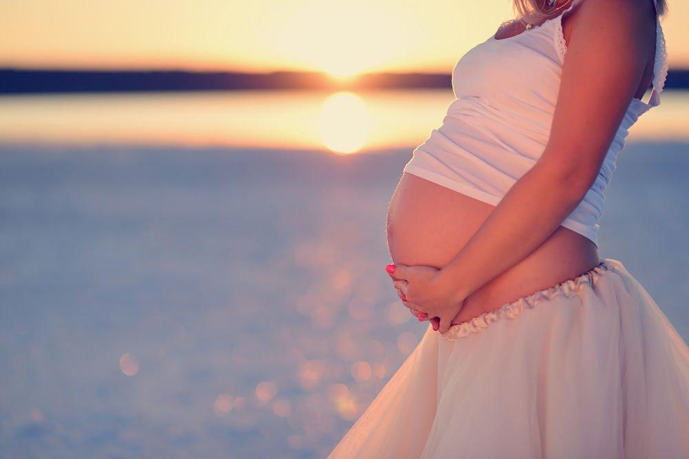 Польза отдыха на море при беременности