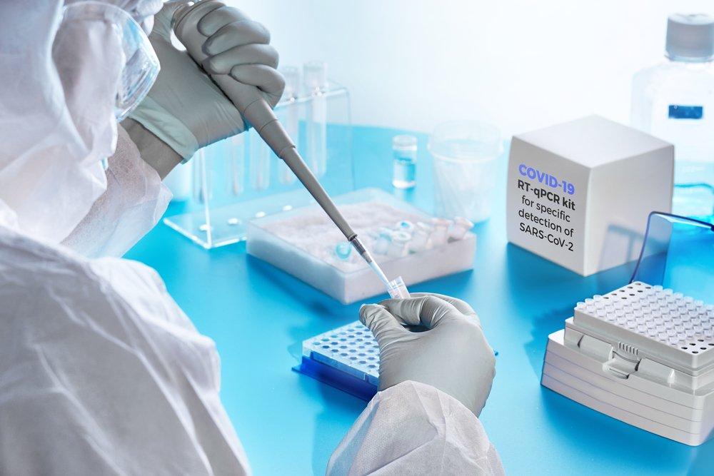 ПЦР-тест на РНК коронавируса