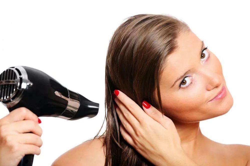 Как правильно сушить волосы?