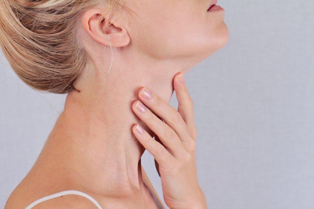 Киста щитовидной железы