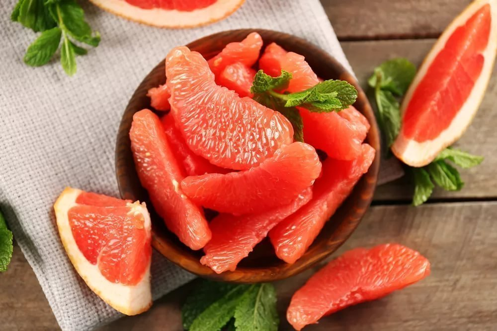 7. Грейпфрут
