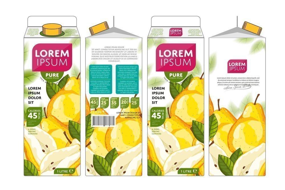 3. Пакетированные соки из фруктов