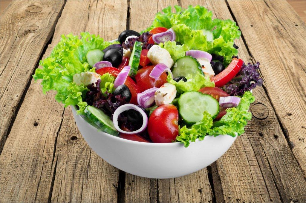 Зелень и овощи в рационе