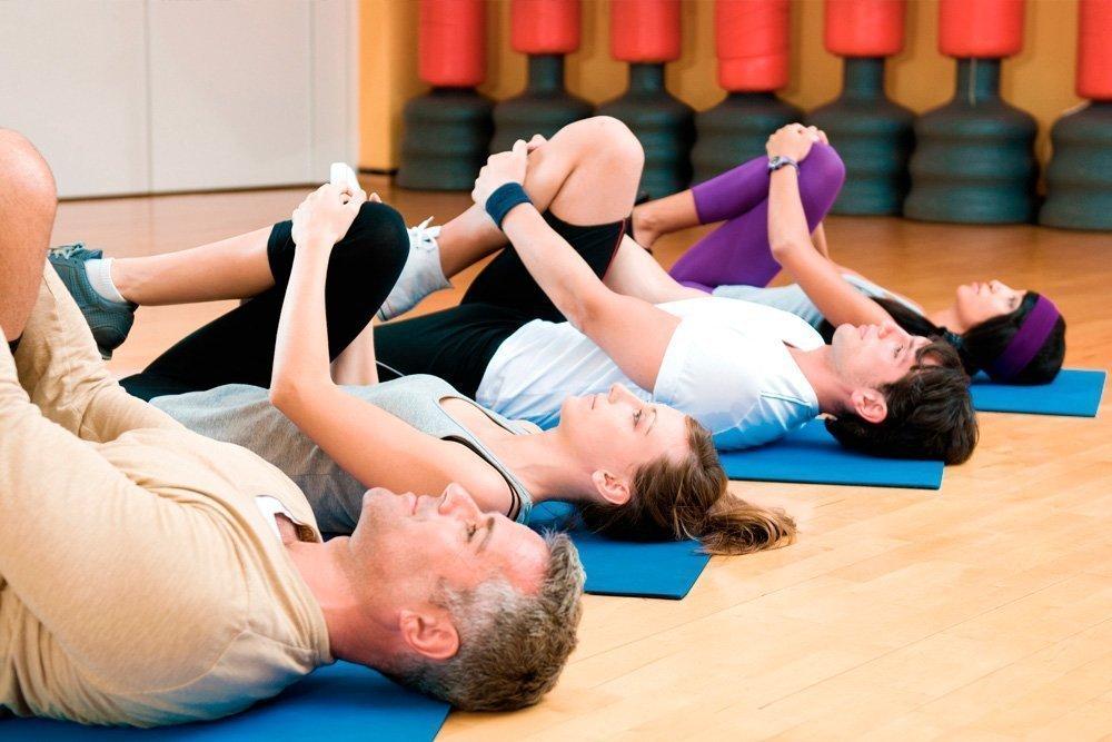 Динамические фитнес-упражнения для разминки