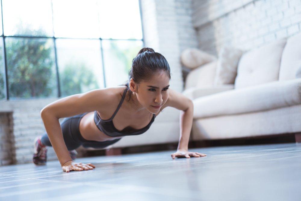 Домашний фитнес для похудения рук