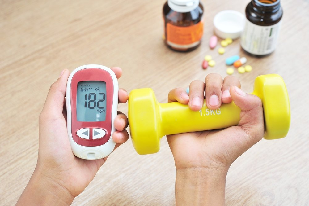 Комплексы упражнений при сахарном диабете