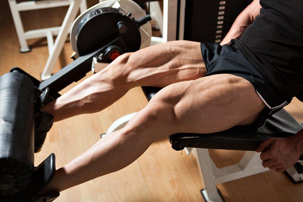 Изолирующие физические упражнения для квадрицепсов