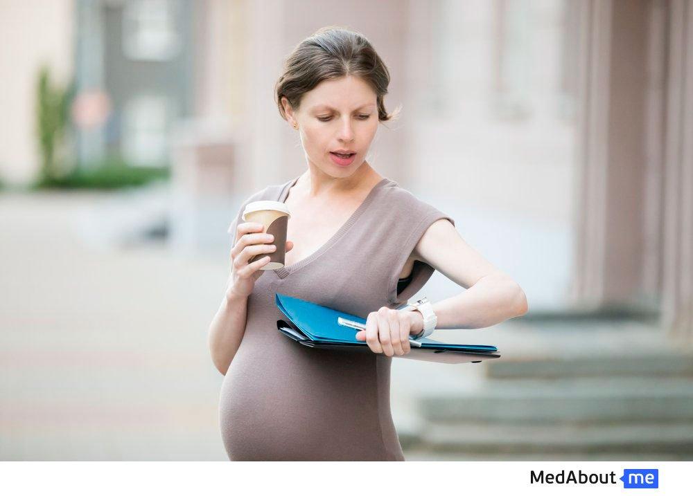 Сколько длятся схватки в первой стадии родов