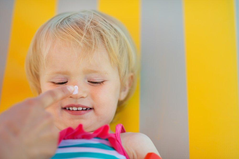 5. Детям первого полугода жизни кремы с SPF не нужны