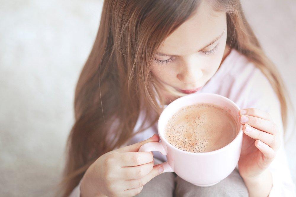 Малыш, выпей какао