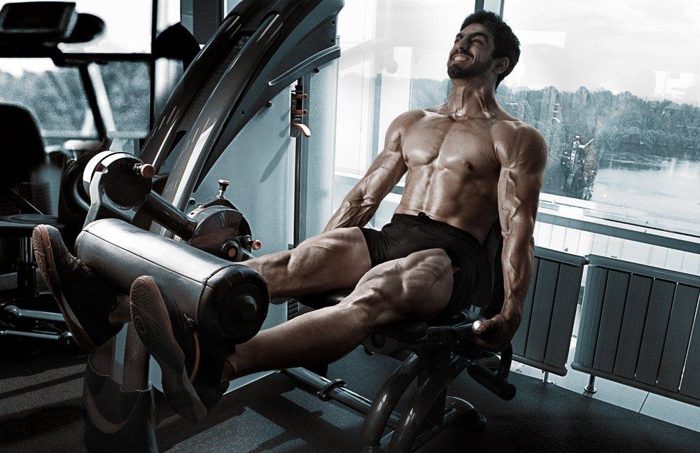 Изолирующие упражнения для ног