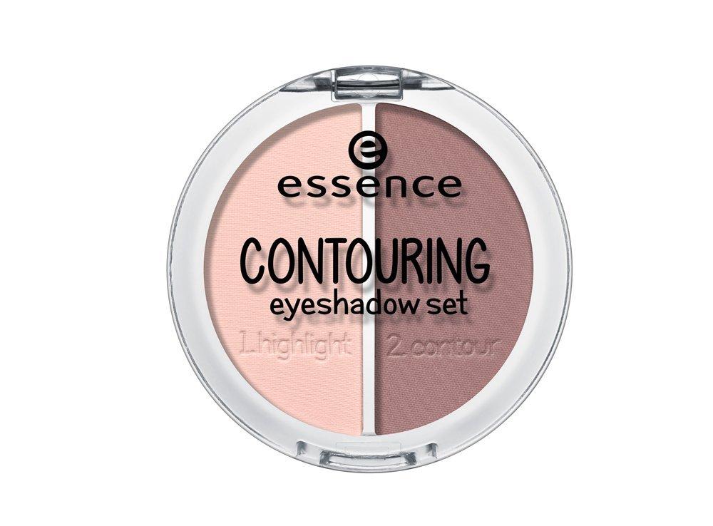Контурирующая палетка теней для век essence contouring eyeshadow set