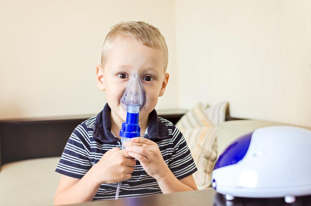 Применение ингалятора в детском возрасте