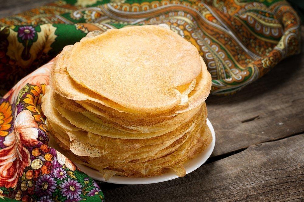 Рецепт яблочных блинов из цельной пшеницы