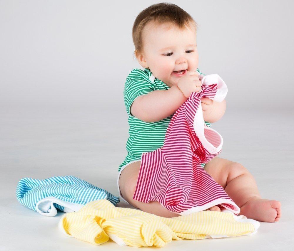 Гардероб детей от 6 месяцев до 1 года