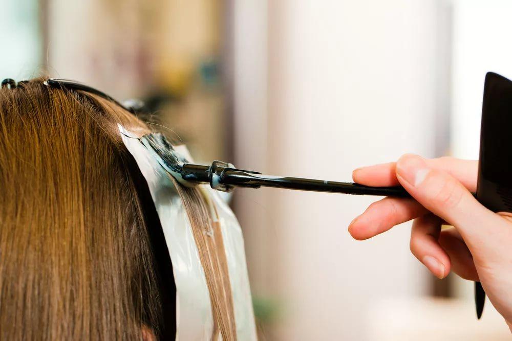 Объемное окрашивание волос