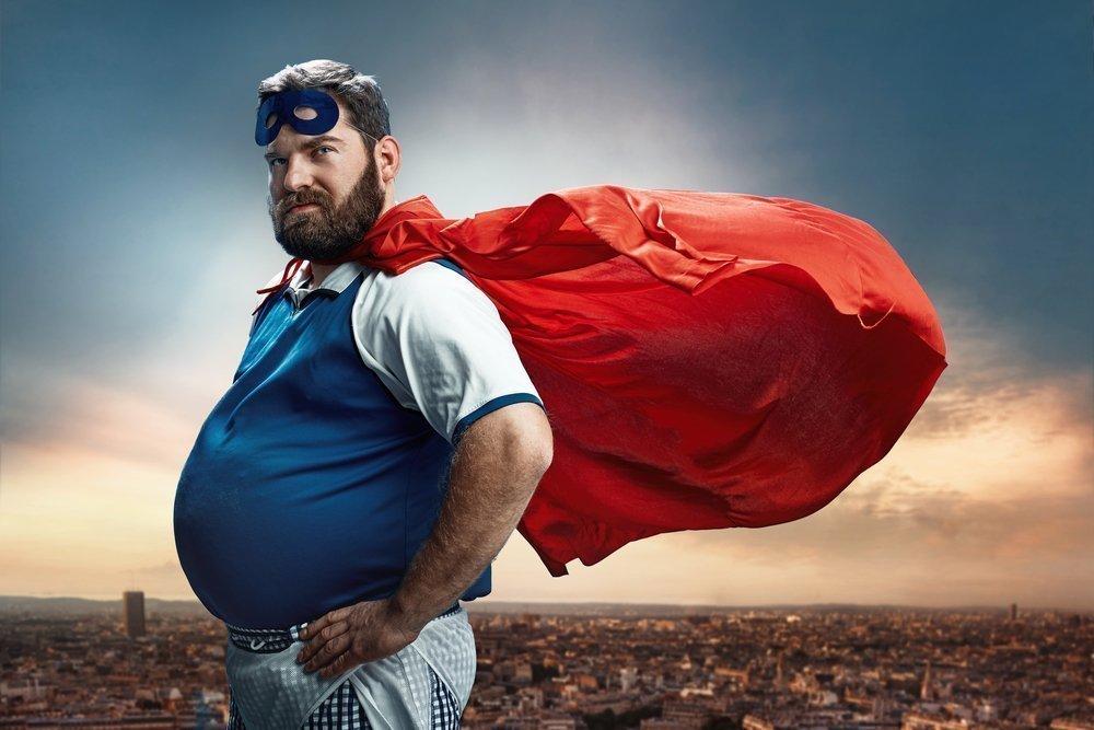 Проблема лишнего веса для мужчин