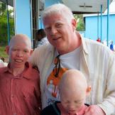 Питер Эш, основатель и руководитель Under the Same Sun, благотворительной организации