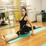 Яна Демина, тренер по йоге