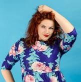 Наташа Йорга, модель pluse size, певица, актриса, ведущая