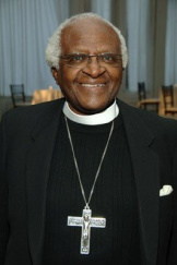 Архиепископ Десмонд Туту, общественный деятель, лауреат Нобелевской премии мира