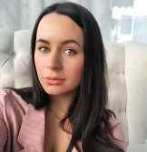 Екатерина Ряжинова, бьюти-блогер, визажист, тренер по фейсфитнесу