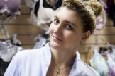 Светлана Серикова, владелица магазина нижнего белья для большой груди