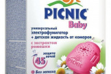 Жидкость от комаров + фумигатор «Пикник Бэби»