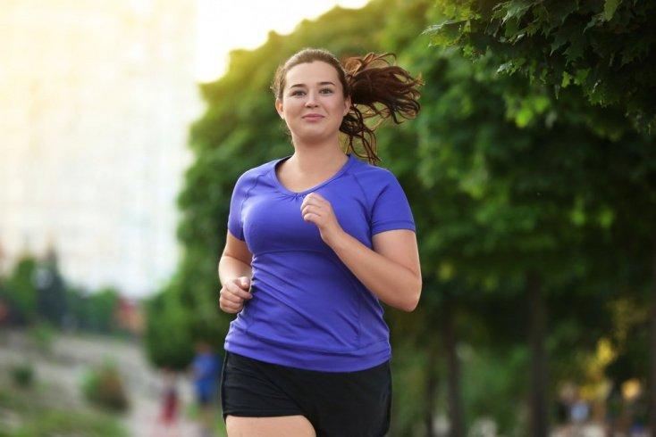 бег при похудении живота