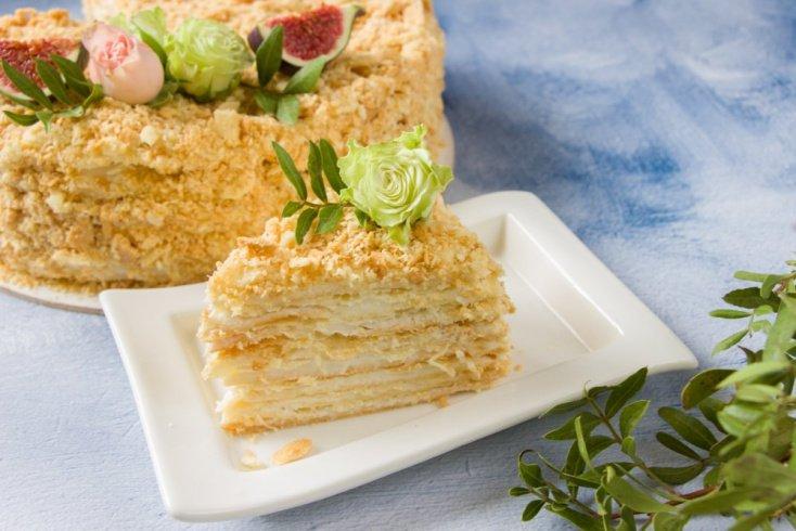 Торт наполеон: рецепт классического торта