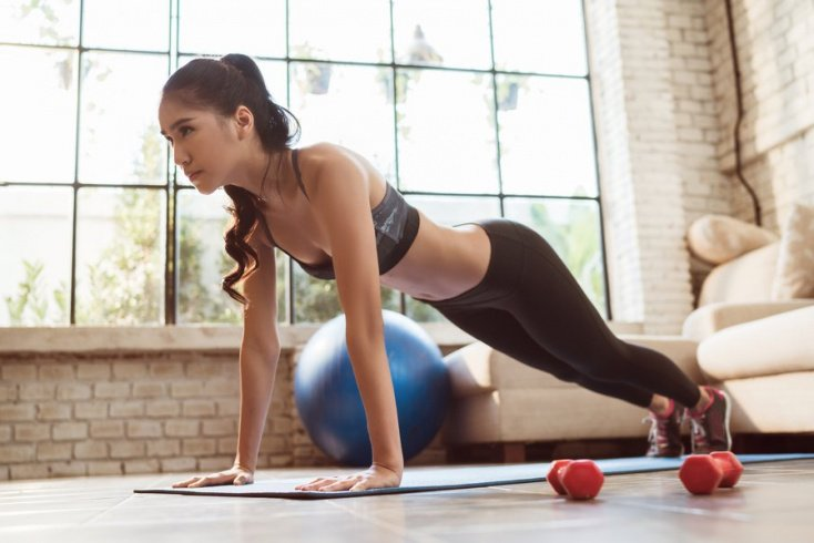 Упражнения для брюшной зоны
