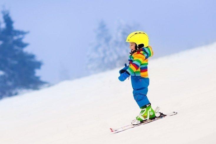 Встаем на лыжи вместе с детьми