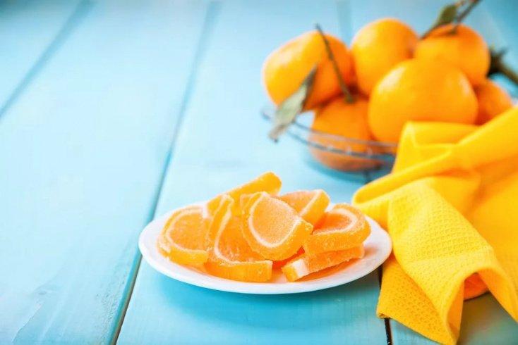 Рецепты на агар-агаре: апельсиновый мармелад