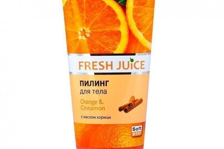 Пилинг для тела «Апельсин и корица», Fresh Juice Orange & Cinnamon, 200 мл Источник: teremok.sm.ua